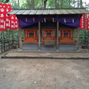 木花開耶姫(コノハナサクヤビメ)とその御子様方の御社